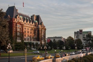 The famous Empress Hotel