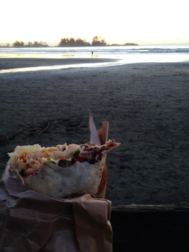 Yaam! Fish burrito