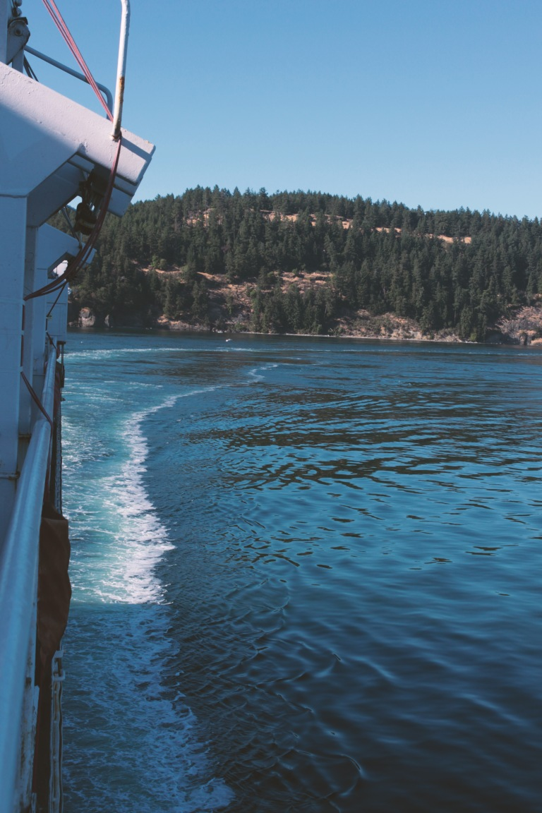 Ferry to Swartz Bay, Vancouver Island