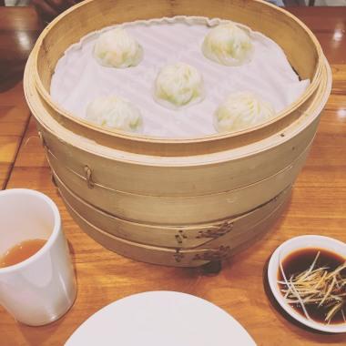 Dumplings from famous Din tai fung