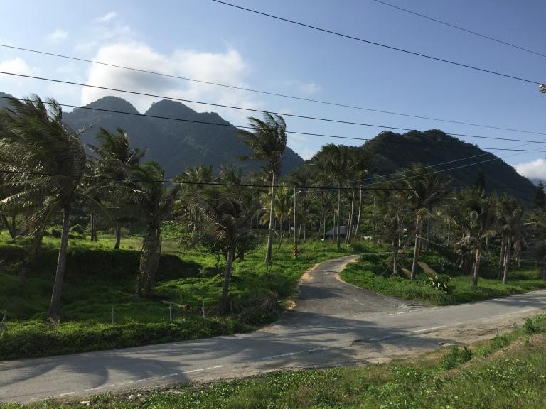 Donghe landscape