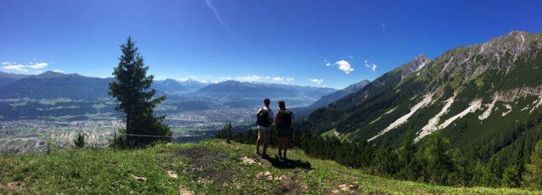 view to Innsbruck